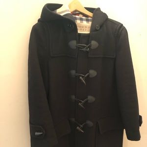 Burberry Peacoat, Black, Womens